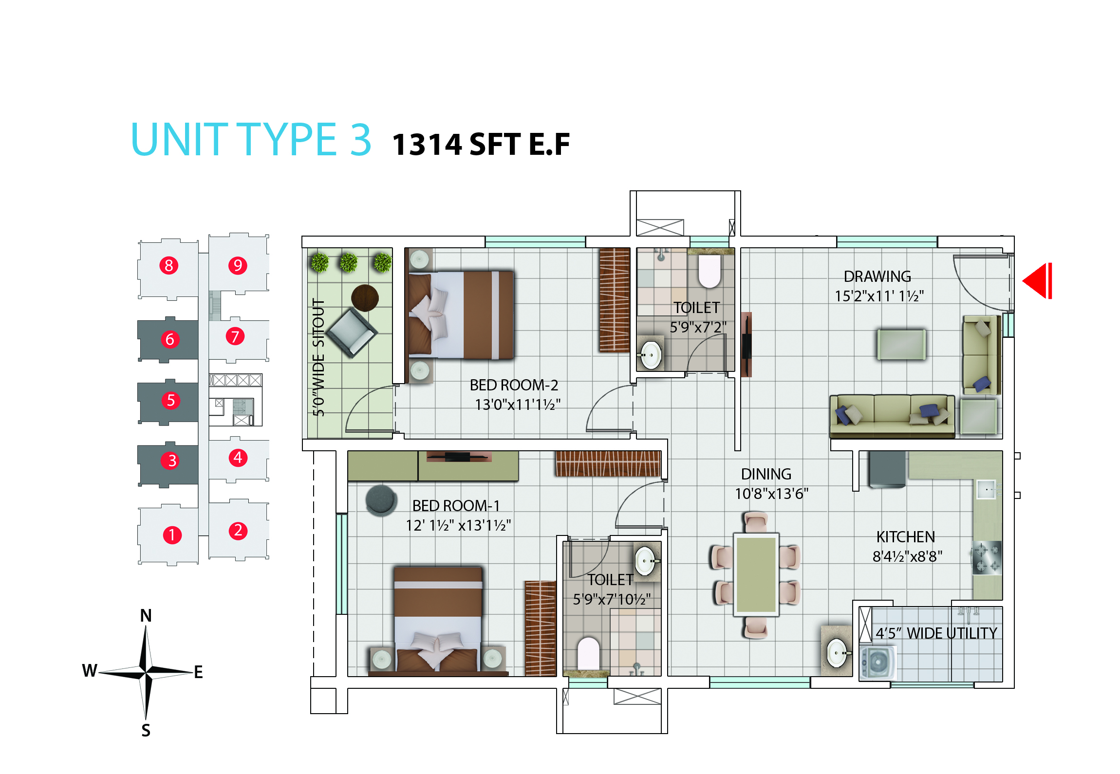My Home Avatar Luxury 2 And 3 Bhk Apartments And Flats In