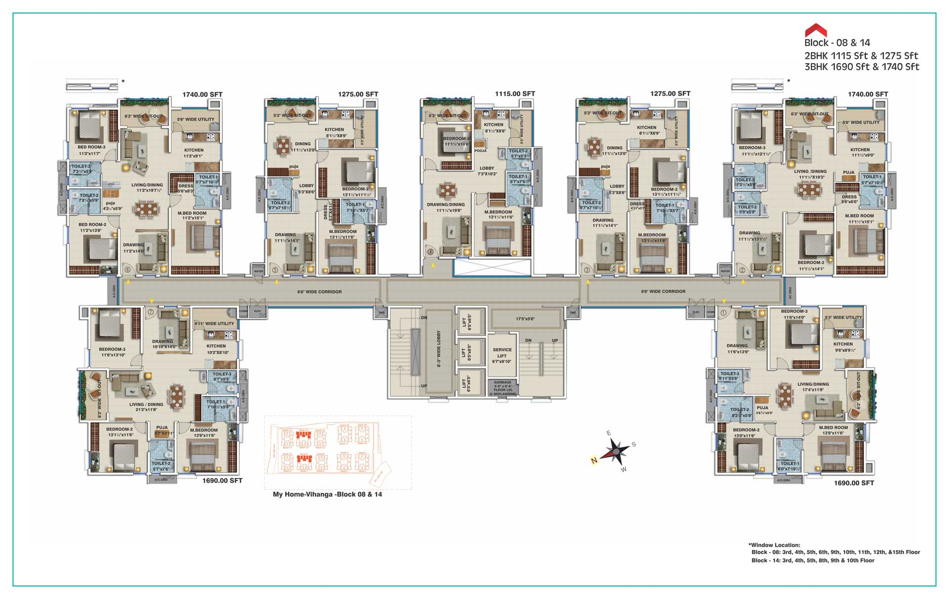 My home navadweepa floor plans for My home plan